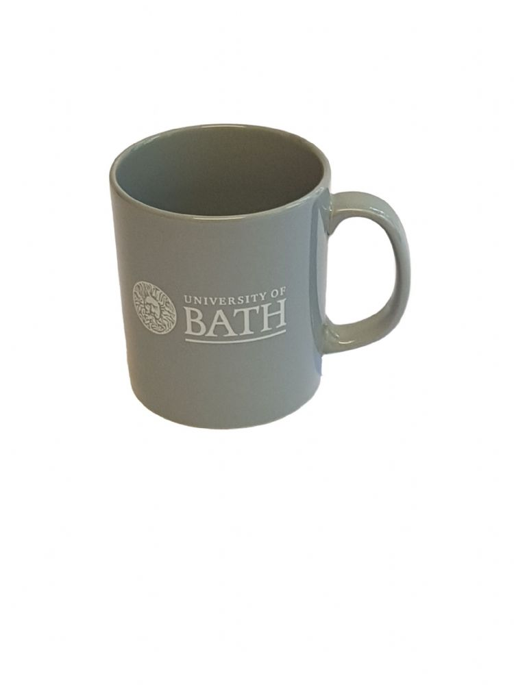 University of Bath Grey Mug